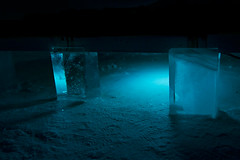 I live under your bed (madpixel.si) Tags: art ice hotel sweden kiruna