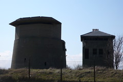 Gun Tower and Battle Observation Post, Sheerness (looper23) Tags: england tower observation kent gun central ww2 april bastion defence minefield sheerness 2013