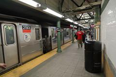 nyc subway (pspyro2009) Tags: nyc ny newyork fuji mta fujifilm nycsubway 59thstreet nycmetro xe1 xf14mmf28r