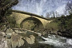 Karadana (kzappaster) Tags: bridge samsung fisheye greece 8mm stonebridge thessaly samyang karditsa smokovo nx100 8mmf28 samsungnx samsungnx100 samyang8mmf28umcfisheye karadana