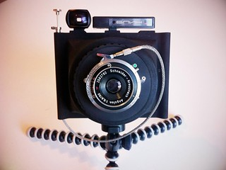 Travelwide 4x5 film camera