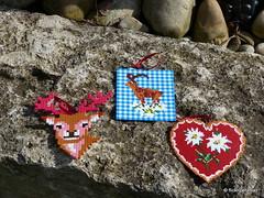 Alpine Bgelperlen (petuniad) Tags: perler prlplattor hamabeads strijkkralen alpinechic huettenzauber buegelperlen