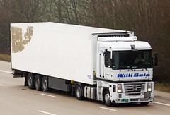 Renault Magnum WGM NR56 Willi Betz (gylesnikki) Tags: white truck artic willibetz