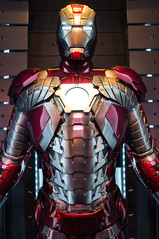 Mark 5 Armor (YorkInTheBox) Tags: im disneyland ironman disney tonystark im3 mark5 disneyparks ironmanarmor ironman2