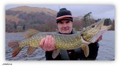 Kayak pike Lomond (Nicolas Valentin) Tags: uk water scotland fishing scenic wild
