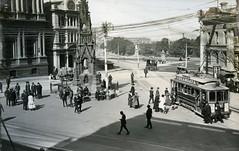 Exchange Comfort Station 1919 - Photo 2 (Dunedin City Council Archives) Tags: underground toilet historic dunedin trams exchange cargillsmonument