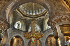 Sheikh Zayed Mosque (Wajahat Mahmood) Tags: gulf interior prayer uae middleeast grand mosque emirates abudhabi dome hdr highdynamicrange masjid        sheikhzayedmosque