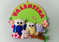 Quadrinho fofo em verdinho! (Gaia Artesanatos) Tags: família owl coruja quadrinho quartodecriança corujinha enfeitedeporta enfeitedematernidade famíliacoruja festadascorujas quadrinhocoruja enfeitecorujinha enfeitedematernidadecoruja