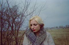 (laumel) Tags: portrait film girl 35mm lithuania disposable singleuse juosta