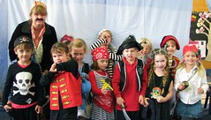 Pirate day at school (Heart felt) Tags: school children pirates dressup decorating pirate imagination biscuits gingerbreadmen