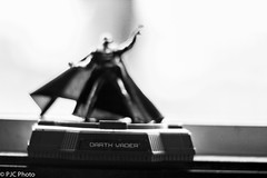 Darth vader in black and white (PJC Photography) Tags: blackandwhite canon helios helios402 crazybokeh canont3i