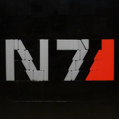 N7 Special Forces (N-11 Ordo) Tags: lego mosaic group special rpg mass effect forces shepard alliance ordo n7 n11 legography