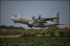 46-55 / MM62189 Italian Air Force Lockheed Hercules C130J-30 (elevationair ) Tags: baldonnell baldonnellaerodrome bal eime military italianairforce freccetricolori displayteam lockheed lockheedmartin hercules c130 c130j 4655 mm62189 herc transport takeoff departure