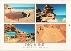 Broome Western Australia (Liz Pidgeon) Tags: broome westernaustralia multiview rocks postcard
