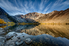 Convict Lake October 10, 2014 (Jeffrey Sullivan) Tags: fall colors easternsierra convictlake morning reflection sierranevada california usa landscape nature photography day photo copyright 2014 jeff sullivan october monocounty