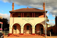 Molong Post Office (Darren Schiller) Tags: molong newsouthwales postoffice architecture building smalltown heritage australia arches rural facade