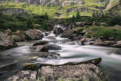 SALTI E SALTELLI (zozoros) Tags: le longexposure lungaesposizione alps alpi plan pfelders water smooth acqua fiume river mountains montagne nature natura