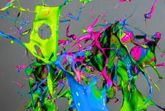 Paint Shrapnel (Brandon_Hilder) Tags: wow explore award best highspeed flash stopmotion explored exploreaward freezeframe paint color colorful splash paintabuse nikon nikon70200mm nikon70200mmv2 nikon70200mmvr2 70200mm nikkor d810 nikond810 public