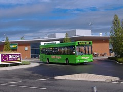 K&H Doyle P304HDP Giltbrook (Guy Arab UF) Tags: kh doyle p304hdp dennis dart slf plaxton pointer bus giltbrook nottinghamshire buses metrobus crawley qdrive