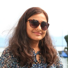 Soma (Debarshi Ray) Tags: germany lindau lake constance summer canon canoneos60d female girl lady woman smile sunglasses pretty beautiful brunette hair portrait brown