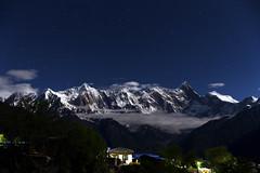 Starry Mt.Namjagbarwa (Darren_Lyn) Tags: starry night longexposure holy mountain belief cloud moonlight star tibet china