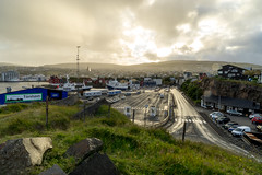 Trshavn: In golden light (jaeschol) Tags: europa faroeislands trshavn streymoy fo faeroe islands froyar