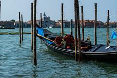 Venetian gondola (ADreamingOgre) Tags: italia venecia veni venice italy italian puente puentes gondola gondolas bridge water canal colour colours