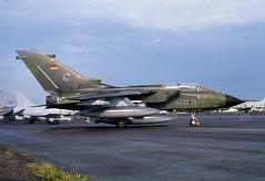 ALAN_POTTS_19870530_0008 (Spuggs) Tags: ayr ayrshire uk gbr glasgowprestwickairport prestwickairport hmsgannet pik egpk prestwickairshow airshow 4463 panaviatornadoids germanairforce gaf jbg32 jet aircraft military hasselbladx5
