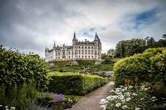 Dunrobbin (Explore) (RVBO) Tags: pourpre ecosse scotland chateau castle dunrobbin sky ciel clouds nuages