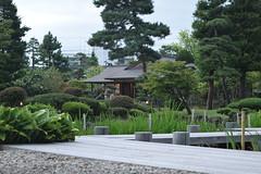 Fujita memorial japanese garden, Japanese traditional garden and western style structure (junjunohaoha) Tags: hirosaki aomori japan nikon d5300