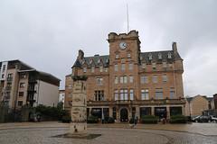 Malmaison Hotel (skron) Tags: hotel clock leith malmaison edinburgh scotland