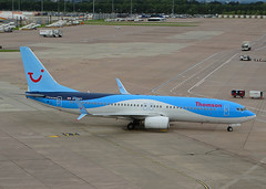 G-FDZY Boeing 737-800 of Thomson Airways (SteveDHall) Tags: aircraft airport aviation airfield aerodrome aeroplane airplane airliner airliners ringway 2016 manchester manchesterairport boeing 737800 thomson boeing737800 thomsonairways tom taw by b737 b738 b737800 737 738 boeing737 gfdzy