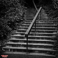 Only One Way To Go From Here (MBates Foto) Tags: blackandwhite monochrome stairway parksandrecreation parks outdoors riverfrontpark spokane washington inlandwashington easternwashington pacificnorthwest unitedstates 99201