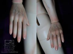 Manicure (LeaRio Style) Tags: bjd bjds blushing parts forbjd balljointeddoll ringdoll hand hands manicure