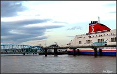 Birkenhead`s terminal (exacta2a) Tags: liverpoolmerseyside birkenhead ships rivers