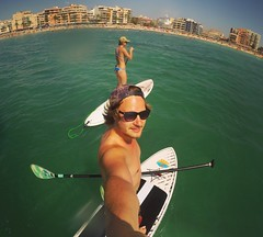 Sup life (Juha Helosuo) Tags: gopro photography black hero 3 fisheye sup surf life travel palma de mallorca spain ocean sea selfie balearic islands tan snapback billabong lifestyle happy love paradise people portrait