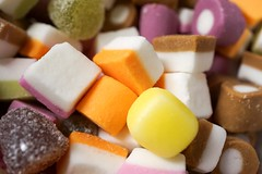"Well Hello Dolly (Mixtures) (Skyline:)) Tags: macro sweets ""sweet spot squared"" colours yellow"