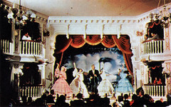 Pepsi Cola's Golden Horseshoe Revue, 1960 (Tom Simpson) Tags: vacationland vintage 1960 1960s disney vintagedisney disneyland goldenhorseshoerevue frontierland