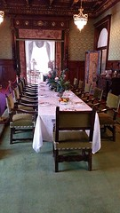 The Dining Room (Terry Hassan) Tags: flaglermuseum usa florida palmbeach whitehall mansion house luxury splendour design diningroom table chair feast entertainment