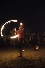 Giocolieri (eastwood_clint) Tags: fuoco fire bagno bagnino spiaggia 112 rimini beach seaside chinon 28mm 28 canon750d unmaredifuoco
