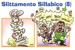 158 Coniglio-Coglioni (Moise-Creativo Galattico) Tags: satira enigmistica