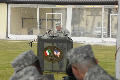 USARAF's HHBN gains new command sergeant major