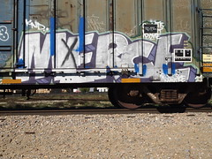MERCE (BGIZ) Tags: art graffiti trains merce knd