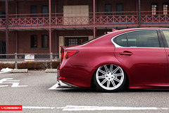 Lexus GS - CV4 (VossenWheels) Tags: air 4 wheels deep rims runner concave monoblock airbags airride vossen cv4 vvscv4
