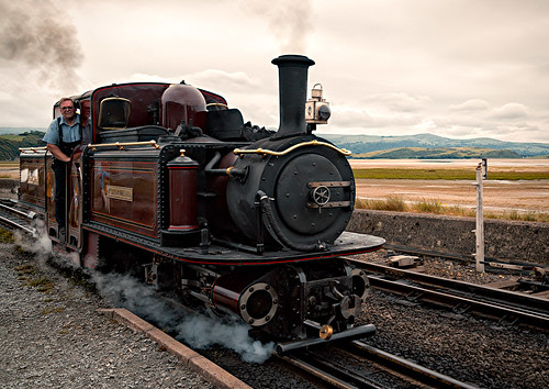 Double Fairlie at Porthmadog