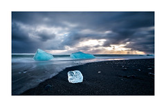 Ice beach (oskarpall) Tags:
