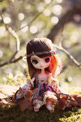 Little girl of the forest (Valrie Busymum) Tags: doll dal groove pullip obitsu rewigged rechipped lizbel busymum