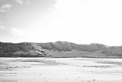 Beach. (Jurriaan Vogel) Tags: sea bw white black beach netherlands photography seaside sand nikon dune zeeland mm 35 vogel 2012 walcheren d60 jurriaan oostkapelle 2013