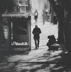 charity (TIBBA69) Tags: street charity old people blackandwhite bw italy rome canon vintage eos strada italia grain persone biancoenero grana 500d carit andreatiberini