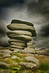 The Cheesewring (Dave Hilditch Photography) Tags: landscapes rocks cornwall moors geology legacy shining bodminmoor cheesewrings exoticimage rockpaperexcellence shiningexcellence